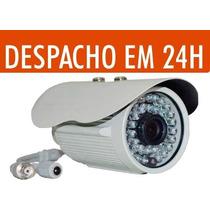 Câmera Cftv Infravermelho 50m Ccd Sony 1/3 800 Linhas +fonte