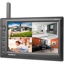 Kit Câmera De Monitoramento Sem Fio Ehm606 Intelbras + Tela