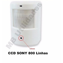 Mini Camera Espia Sensor De Presença Com Audio Ccd Sony