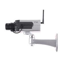 Câmera De Vigilância Wireless Falsa Com Sensor De Movimento