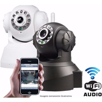Kit 4 Cameras De Seguranca Visão Noturna Com Wifi Gira 360