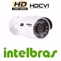 Camera Intelbras Hdcvi 720p 30ir Hd Vhd 3030b 3.6mm Ou 6mm