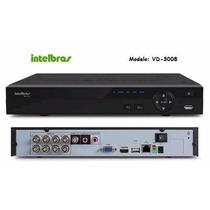 Gravador Digital Dvr Intelbras 8 Canais Vd 3008 Intelbras