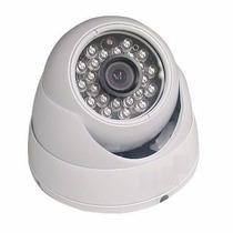 Câmera Dome Infra 2.8mm Ccd Digital 1/3 800 Linhas Ir Cut