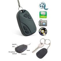 Chaveiro Espião Câmera Espiã Pen Drive-micro Sd 8gb