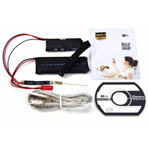 Micro Câmera Ip Espiã Wifi Hd Com E Sem Wifi E Web