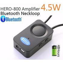 Amplificador De Micro Ponto Espião Escuta De 4.5w Bluetooth