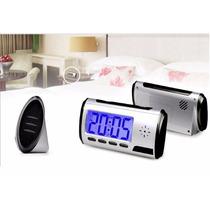 Relógio Espião Micro Câmera Espiã Despertador De Mesa
