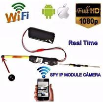 Ultra Micro Camera Wi-fi Tempo Real Conexcao Via Celular