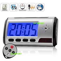 Relógio Despertador Espião Micro Câmera Espiã De Mesa Em Poa