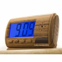 Relógio Despertador Espião C/ Lindo E Detector De Movimento