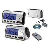 Relógio Despertador Com Camera Espiã