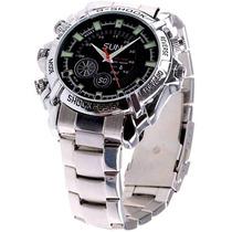 Relógio Espião Full Hd® 1080p 8gb Micro Camera Escondida 12x