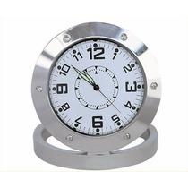 Relógio De Mesa Camerâ Espião Com Sensor De Movimento