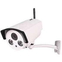 Câmeras Ip Wireless Wifi 1.3mp Onvif 2.2 Externa Pega Placa