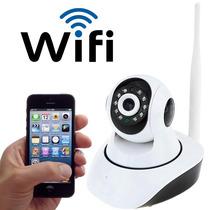 Câmera Hd 720p Interno Com Infra Vermelho Led Ip 1.3mp Wifi