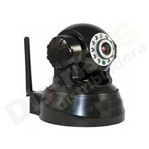 Câmera Ip Wireless 1/4 Cmos 10 Led Infra Giratoria - Showtec