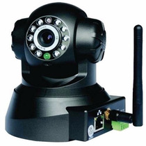 Camera Ip Wireless Visao Noturna Sensor Presença E Movimento