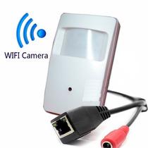 Camera Espiã Ip Wifi Dvr Hd Monitoramento Segurança Espião