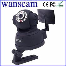Camera Ip Wireless Visão Noturna Com Cd Programas