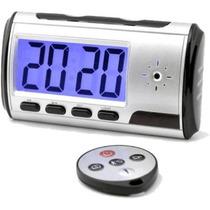 Câmera Espiã Formato Relógio De Mesa Digital - Melhor Preço
