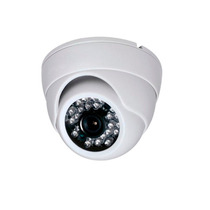 Camera Dome Ccd Infra Vermelho 24 Leds 20mts