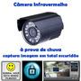 Camera De Segurança Infravermelho Sensor Visao Noturna !!!