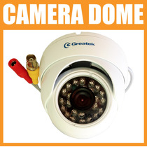 Camera Dome Ir Externa Greatek Segc-7620d 3.6 Mm 760 Linhas