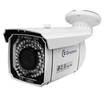 Câmera Infravermelho 50m Externa 480 Linhas Lente 4~9mm