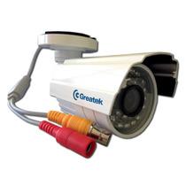 Camera Ir Greatek Externa Segc-7620g 24 Leds 760 Linhas Cftv