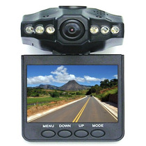 Câmera Espiã Para Veículos Com Dvr E Tela Lcd 2,5