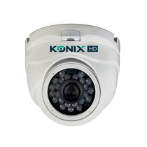 Câmera Dome Ahd Konix Infra 1.3mp 20m 1/3 3.6mm Residencial