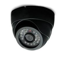 Camera Dome Segurança Vigilancia Leds Visao Noturna Dvr Cabo