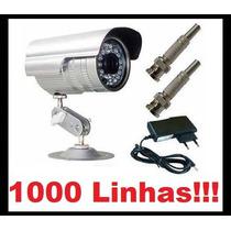 Camera Ccd Infra Vermelho 36 Leds 30mts Prova D´agua 600l