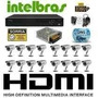 Cftv Dvr 3116 Intelbras, Hd 1 T E 16 Cameras Infra 25 M 700l