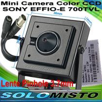 Mini Micro Camera Ccd Sony Effio-e Res.768x494 Ntsc 700tvl