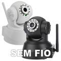 Camera Ip Sem Fio Wireless Infravermelho Com Acesso Grátis