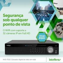 Intelbras Nvd 7032 - Nvr Onvif Para Até 32 Câmeras Ip