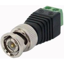 Kit 10 Conector Adaptador Plug Borne Bnc P4 Rca Macho Femea