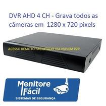 Dvr Ahd (1280 X 720p) 4 Video E Audio Posonic Alta Resolução