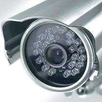 Câmera Lente De 6mm E 30 Super Leds Identificação Veículos