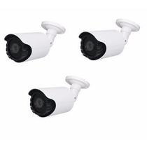 Kit 3 Câmeras Ahd 1.3 M Infra Vermelho 60m Sony1080 Cftv