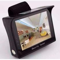 Testador De Câmeras De Cftv Com Monitor Color - Cftv Tester