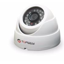 Câmera Infravermelho Ccd 1/3 Megapixel 720tvl Topway