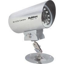 Câmera Multitoc Sharp 1/3 - Ccd Color Ir-100 420 Linhas