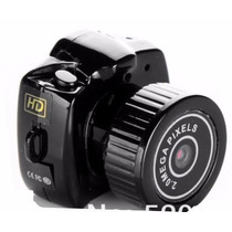 Mini Câmera Dv Espiâ Alta Qualidade- Y2000 Espiã
