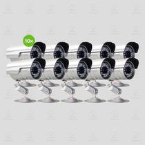 10 Camera De Segurança Infravermelho Ccd Sony 1/3 Full Hd