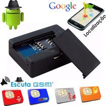 Escuta Espiã Localizador Gsm - Função Gps Mini A8