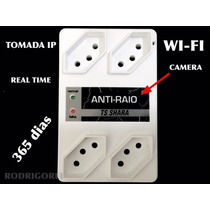 Tomada Espiao Com Camera Ip Full Hd /real Time Espionagem
