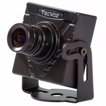 Mini Câmera Tecvoz Day Night Ccd Sony 1/3 420tvl - Mcs-hs
